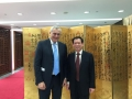 con il ministro cinese Zhang Lirong